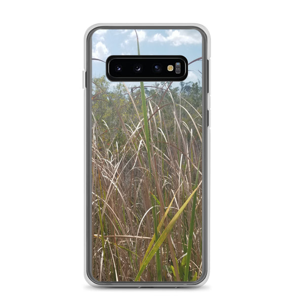 """Grass"" Samsung Phone Case-Phone Case-Tropical Scenery-Samsung Galaxy S10-Tropical Scenery"
