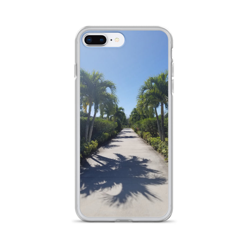 """Path to Paradise"" iPhone Case-Phone Case-Tropical Scenery-iPhone 7 Plus/8 Plus-Tropical Scenery"