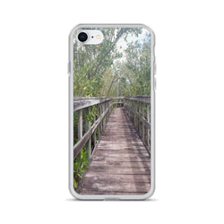 """Out Back"" iPhone Case-Phone Case-Tropical Scenery-iPhone 7/8-Tropical Scenery"