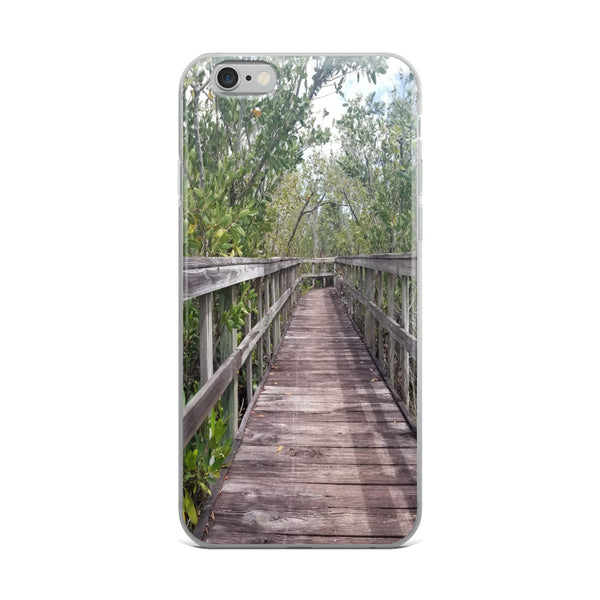 """Out Back"" iPhone Case-Phone Case-Tropical Scenery-iPhone 6 Plus/6s Plus-Tropical Scenery"