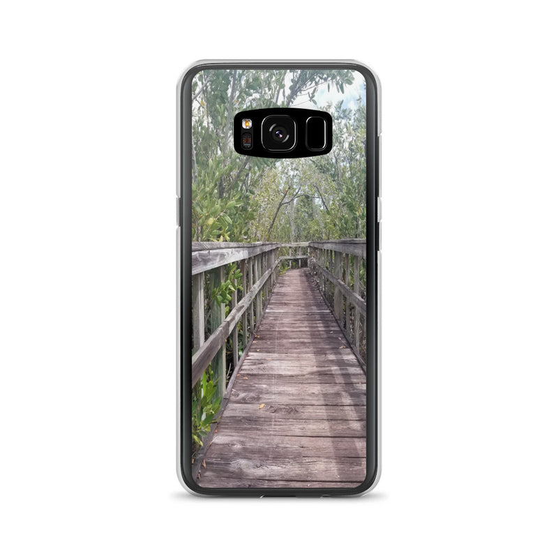 """Out Back"" Samsung Case-Phone Case-Tropical Scenery-Samsung Galaxy S8-Tropical Scenery"