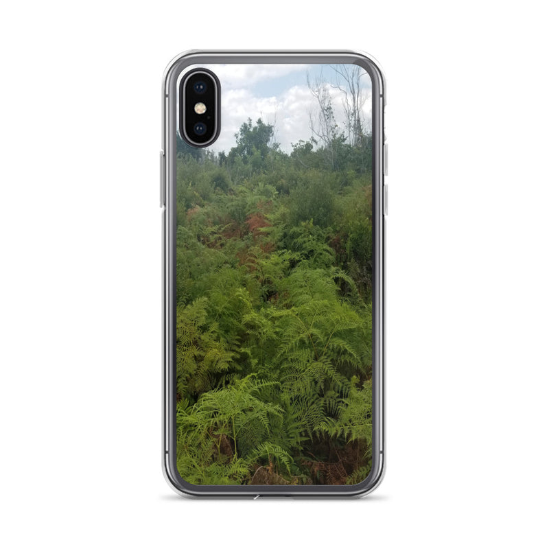 """Green on the Scene"" iPhone Case-Phone Case-Tropical Scenery-iPhone X/XS-Tropical Scenery"