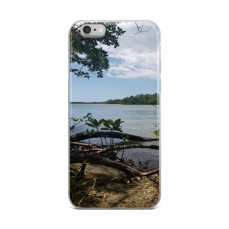 """Scenic View"" iPhone Case-Phone Case-Tropical Scenery-iPhone 6 Plus/6s Plus-Tropical Scenery"