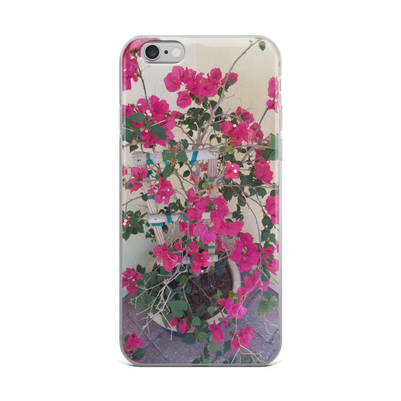 """Pretty in Pink"" iPhone Case-Phone Case-Tropical Scenery-iPhone 6 Plus/6s Plus-Tropical Scenery"