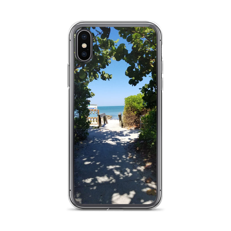 Beach Pass iPhone Case-Tropical Scenery-iPhone X/XS-Tropical Scenery