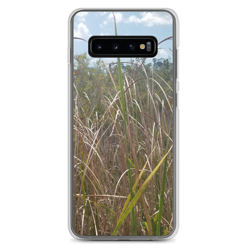 """Grass"" Samsung Phone Case-Phone Case-Tropical Scenery-Samsung Galaxy S10+-Tropical Scenery"