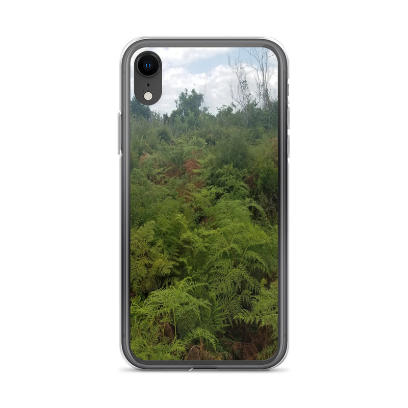 """Green on the Scene"" iPhone Case-Phone Case-Tropical Scenery-iPhone XR-Tropical Scenery"