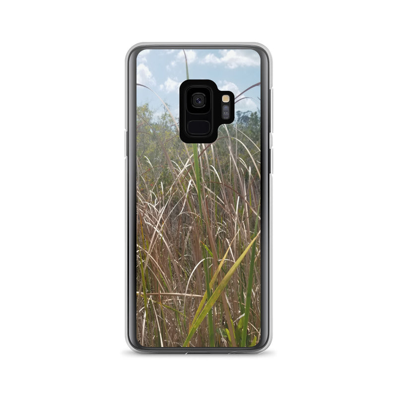 """Grass"" Samsung Phone Case-Phone Case-Tropical Scenery-Samsung Galaxy S9-Tropical Scenery"