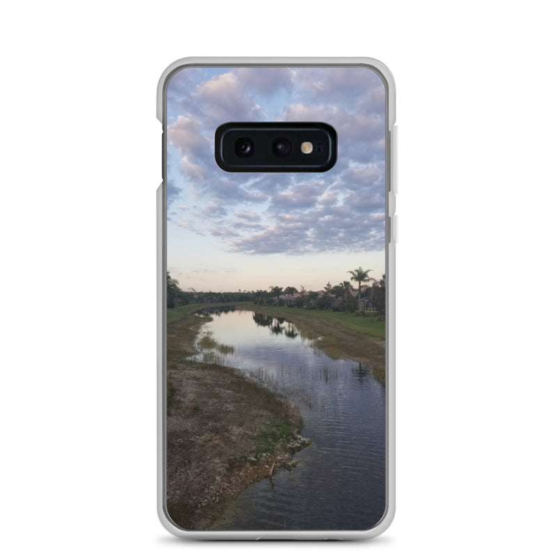 """River Sky"" Samsung Case-Phone Case-Tropical Scenery-Samsung Galaxy S10e-Tropical Scenery"