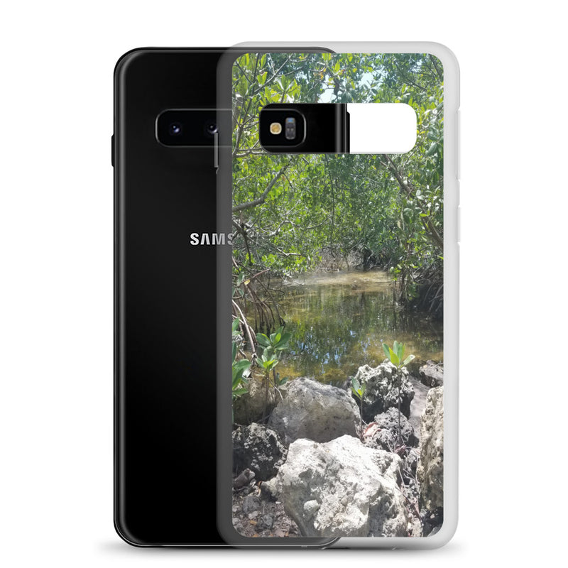 """Creeks"" Samsung Phone Case-Phone Case-Tropical Scenery-Tropical Scenery"