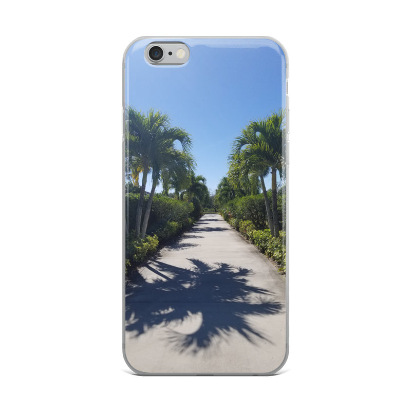 """Path to Paradise"" iPhone Case-Phone Case-Tropical Scenery-iPhone 6 Plus/6s Plus-Tropical Scenery"