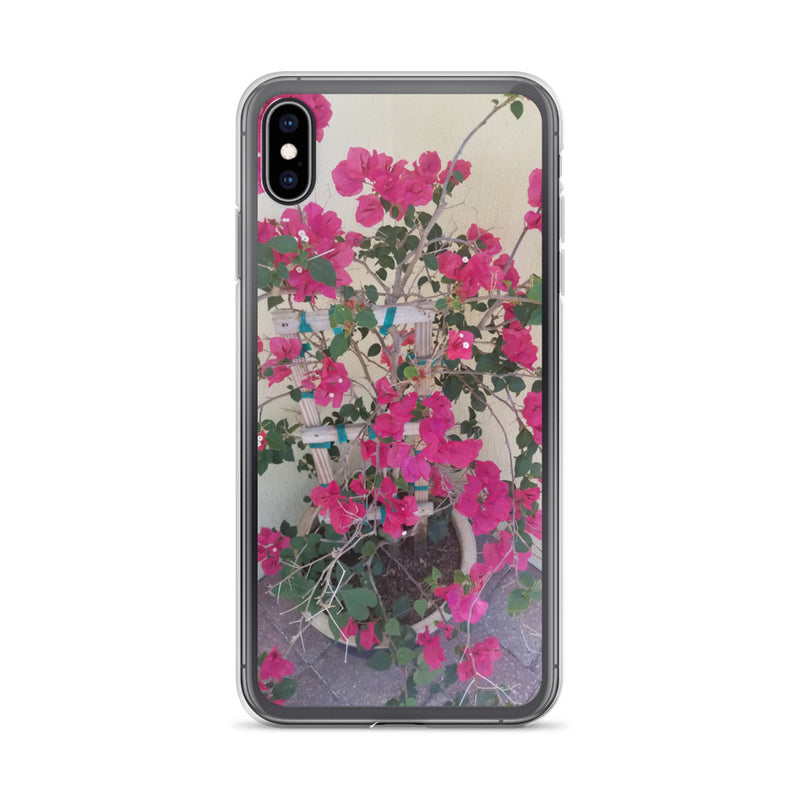 """Pretty in Pink"" iPhone Case-Phone Case-Tropical Scenery-iPhone XS Max-Tropical Scenery"