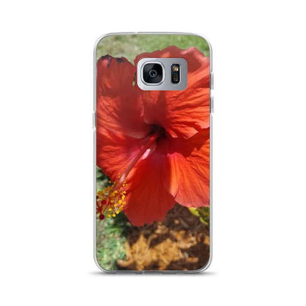 """Alive and Well"" Samsung Phone Case-Phone Case-Tropical Scenery-Samsung Galaxy S7 Edge-Tropical Scenery"