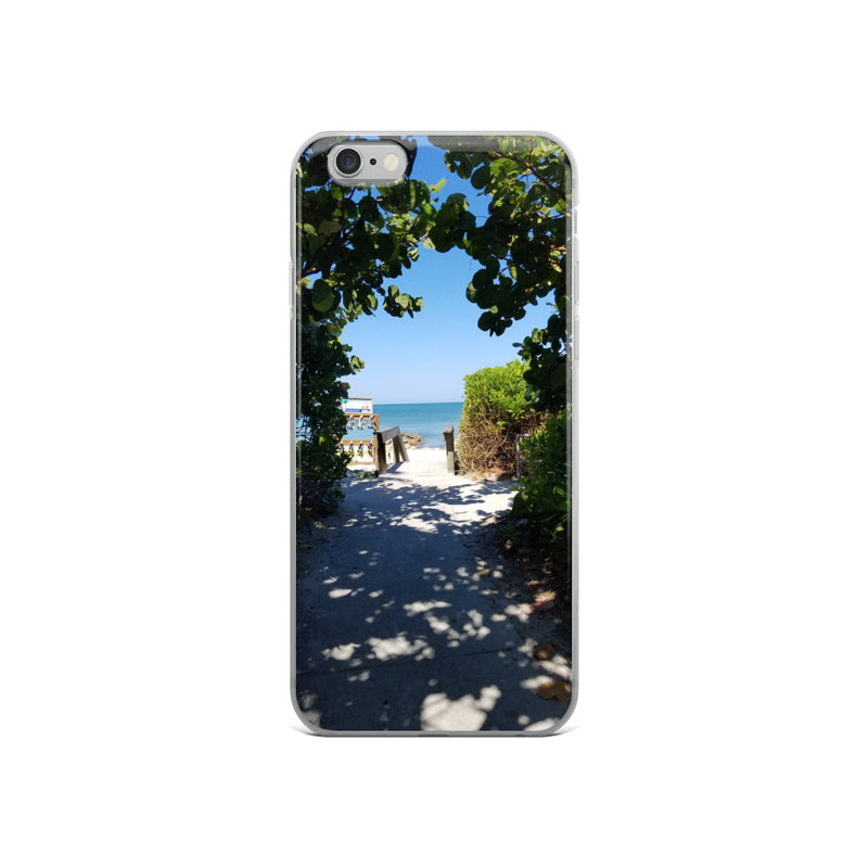 Beach Pass iPhone Case-Tropical Scenery-iPhone 6/6s-Tropical Scenery