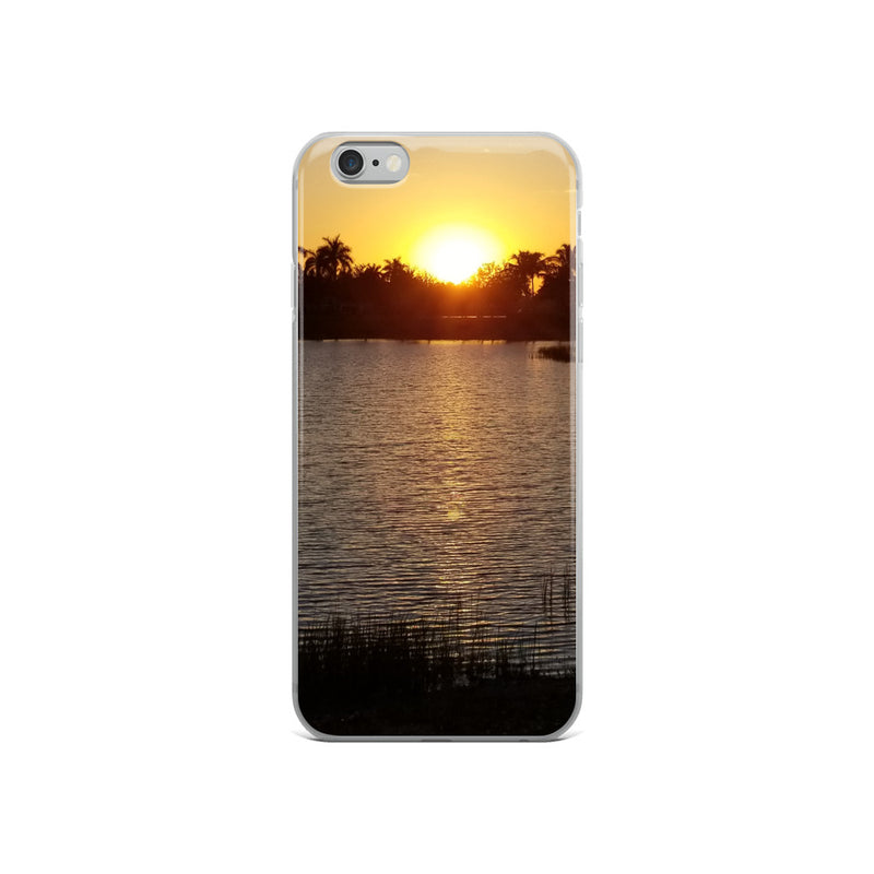"""Sunsational"" iPhone Case-Phone Case-Tropical Scenery-iPhone 6/6s-Tropical Scenery"