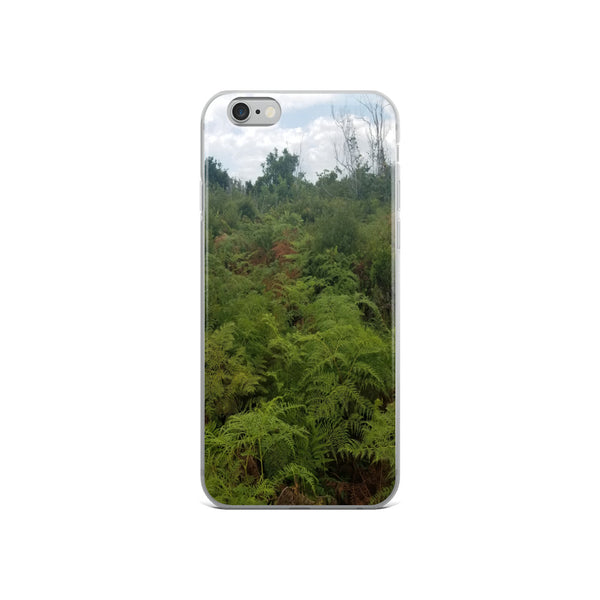"""Green on the Scene"" iPhone Case-Phone Case-Tropical Scenery-iPhone 6/6s-Tropical Scenery"