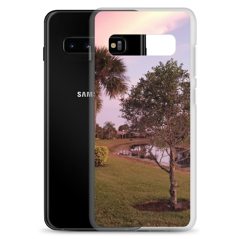 """River's Edge"" Samsung Case-Phone Case-Tropical Scenery-Tropical Scenery"