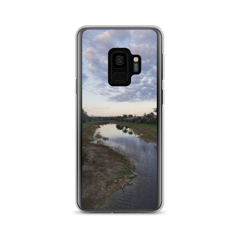 """River Sky"" Samsung Case-Phone Case-Tropical Scenery-Samsung Galaxy S9-Tropical Scenery"