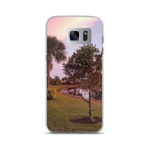 """River's Edge"" Samsung Case-Phone Case-Tropical Scenery-Samsung Galaxy S7 Edge-Tropical Scenery"