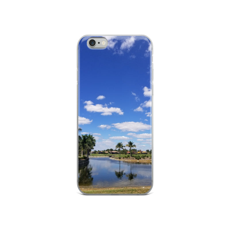 """A Day on the Course"" iPhone Case-Phone Case-Tropical Scenery-iPhone 6/6s-Tropical Scenery"