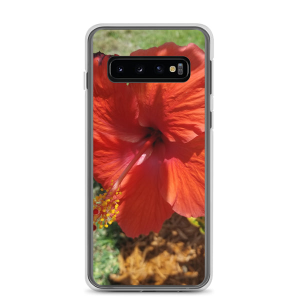 """Alive and Well"" Samsung Phone Case-Phone Case-Tropical Scenery-Samsung Galaxy S10-Tropical Scenery"