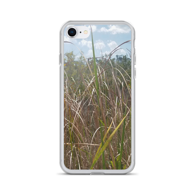 """Grass"" iPhone Case-Phone Case-Tropical Scenery-iPhone 7/8-Tropical Scenery"