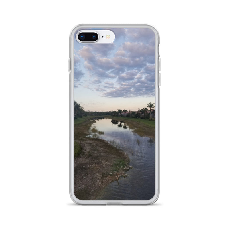 """River Sky"" iPhone Case-Phone Case-Tropical Scenery-iPhone 7 Plus/8 Plus-Tropical Scenery"