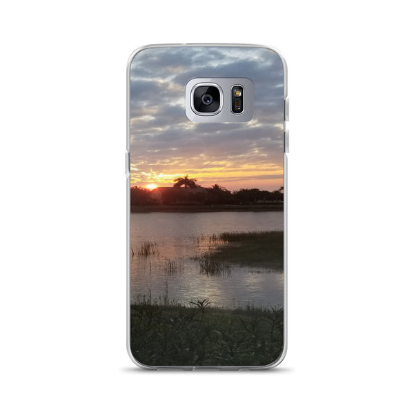 """Endless Summer"" Samsung Phone Case-Phone Case-Tropical Scenery-Samsung Galaxy S7 Edge-Tropical Scenery"