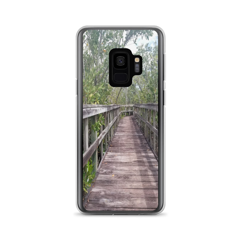 """Out Back"" Samsung Case-Phone Case-Tropical Scenery-Samsung Galaxy S9-Tropical Scenery"