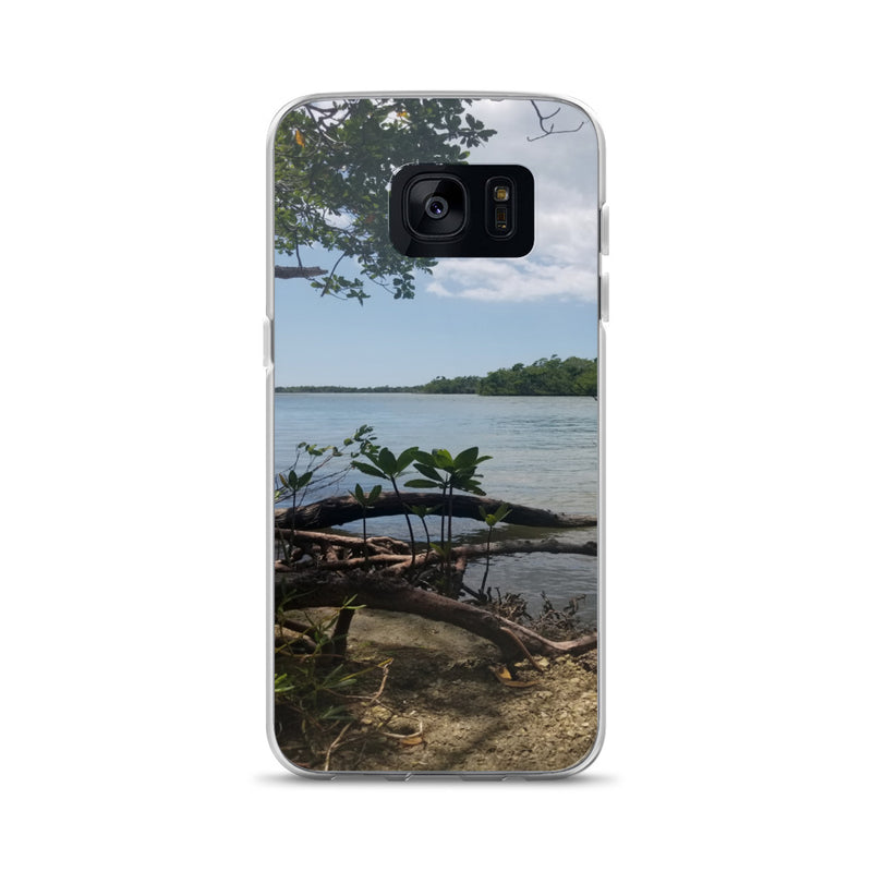 """Scenic View"" Samsung Case-Phone Case-Tropical Scenery-Samsung Galaxy S7-Tropical Scenery"