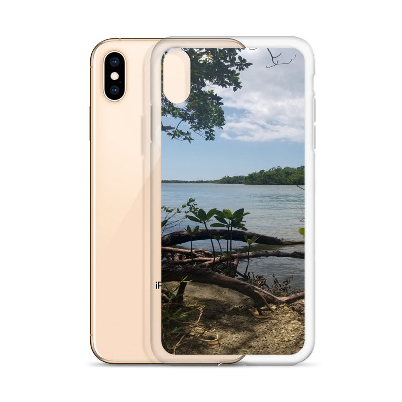 """Scenic View"" iPhone Case-Phone Case-Tropical Scenery-Tropical Scenery"