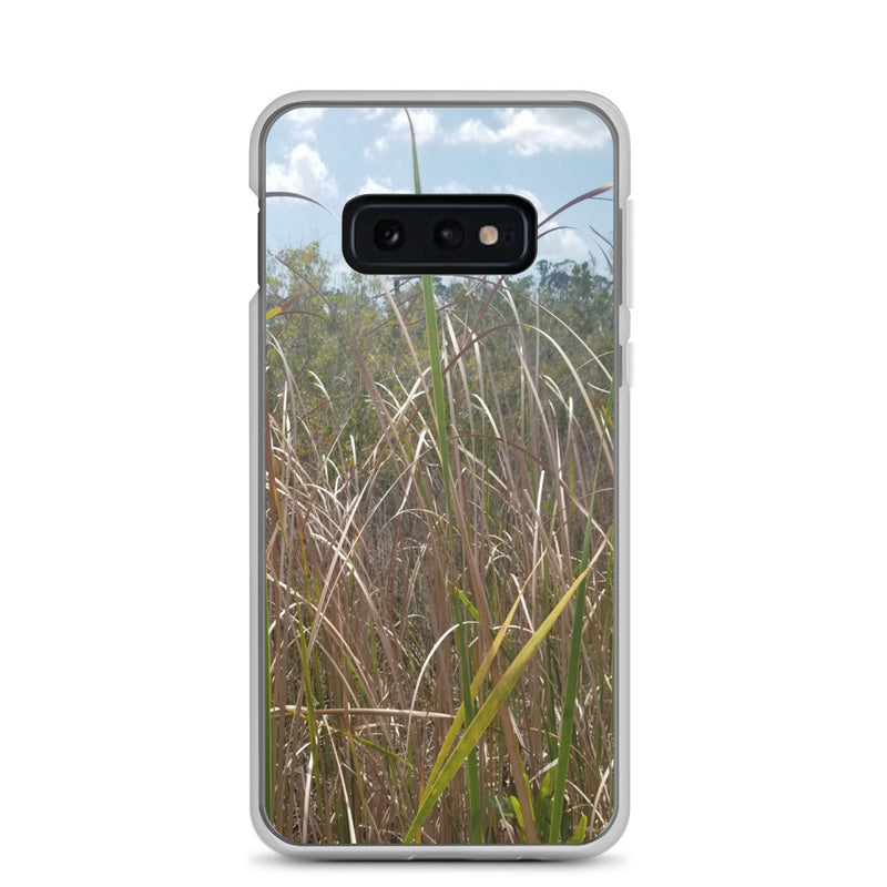 """Grass"" Samsung Phone Case-Phone Case-Tropical Scenery-Samsung Galaxy S10e-Tropical Scenery"