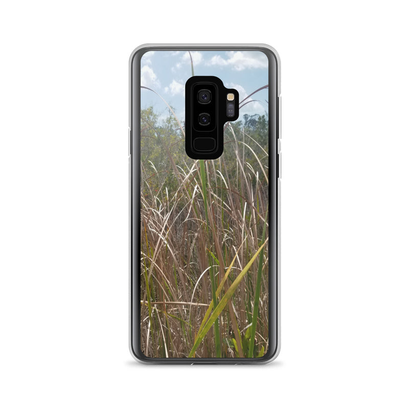 """Grass"" Samsung Phone Case-Phone Case-Tropical Scenery-Samsung Galaxy S9+-Tropical Scenery"