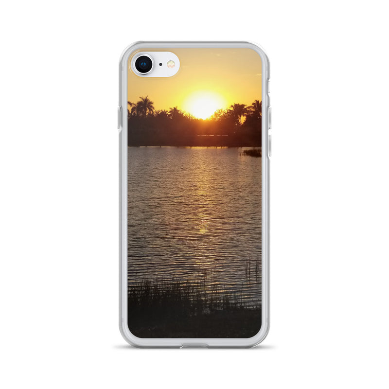 """Sunsational"" iPhone Case-Phone Case-Tropical Scenery-iPhone 7/8-Tropical Scenery"