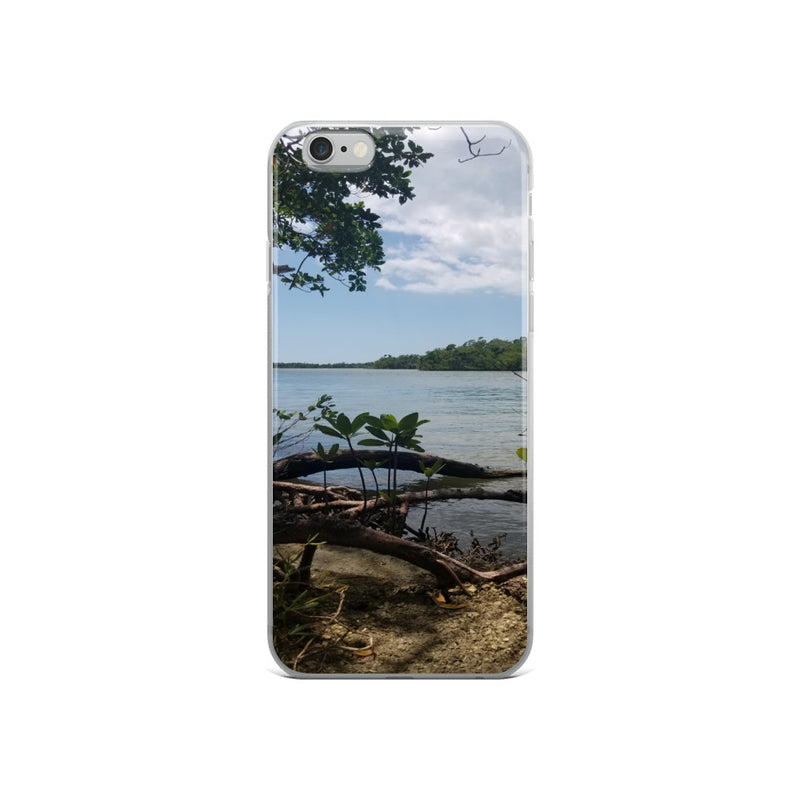 """Scenic View"" iPhone Case-Phone Case-Tropical Scenery-iPhone 6/6s-Tropical Scenery"