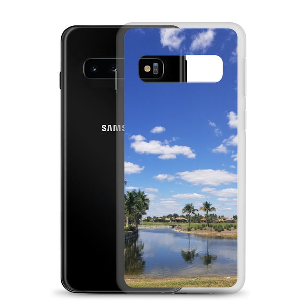 """A Day on the Course"" Samsung Phone Case-Phone Case-Tropical Scenery-Tropical Scenery"