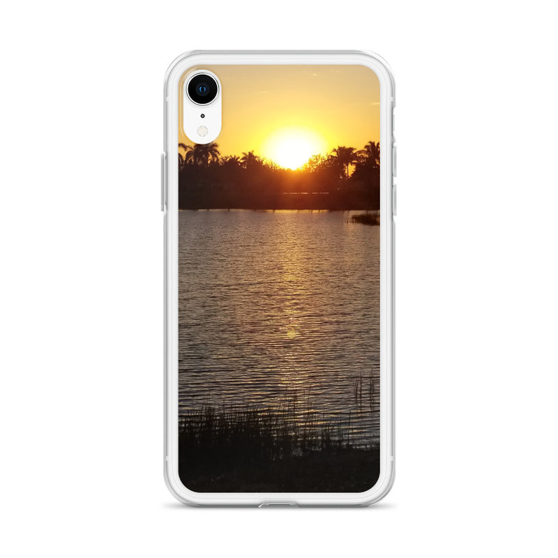"""Sunsational"" iPhone Case-Phone Case-Tropical Scenery-Tropical Scenery"