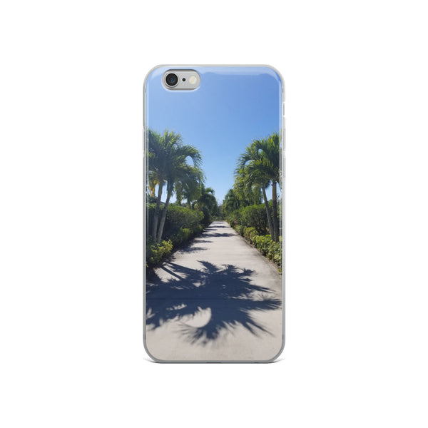 """Path to Paradise"" iPhone Case-Phone Case-Tropical Scenery-iPhone 6/6s-Tropical Scenery"