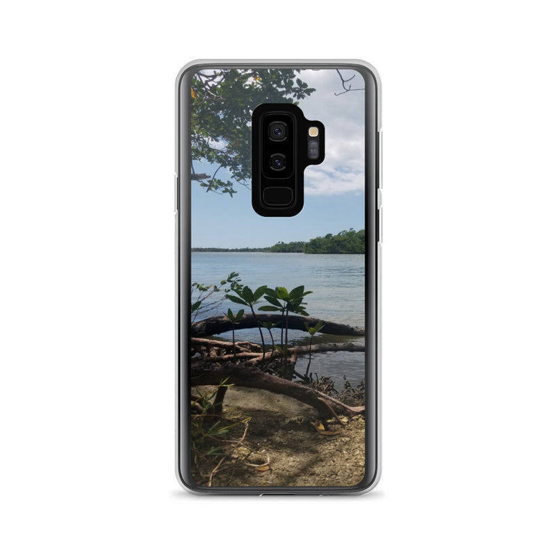 """Scenic View"" Samsung Case-Phone Case-Tropical Scenery-Samsung Galaxy S9+-Tropical Scenery"
