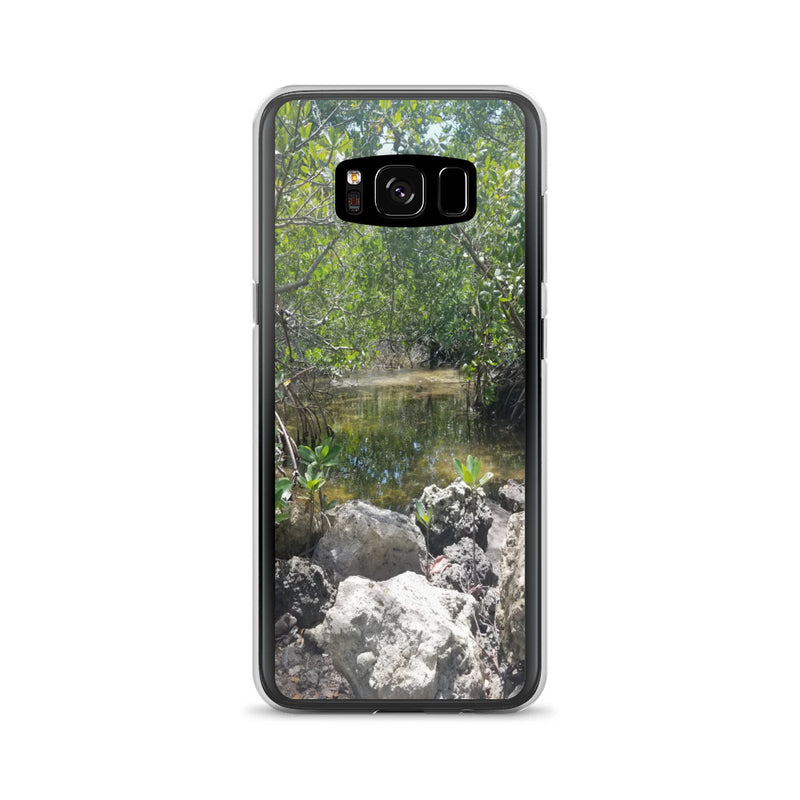 """Creeks"" Samsung Phone Case-Phone Case-Tropical Scenery-Samsung Galaxy S8-Tropical Scenery"