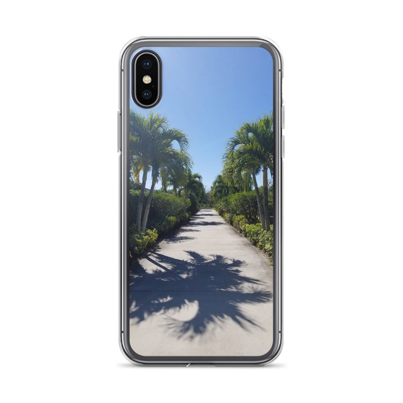 """Path to Paradise"" iPhone Case-Phone Case-Tropical Scenery-iPhone X/XS-Tropical Scenery"