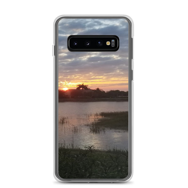 """Endless Summer"" Samsung Phone Case-Phone Case-Tropical Scenery-Samsung Galaxy S10-Tropical Scenery"
