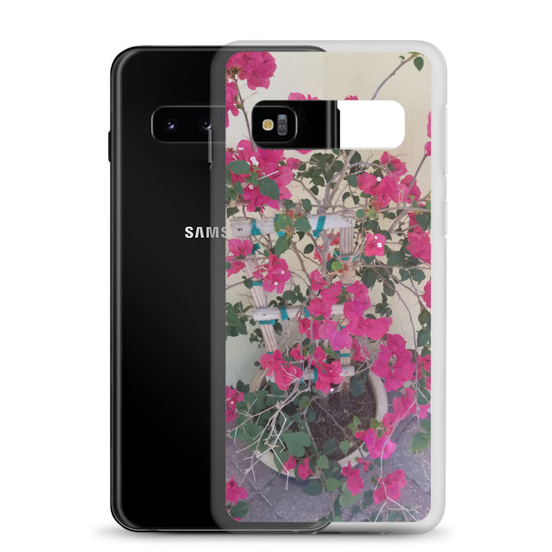 """Pretty in Pink"" Samsung Case-Phone Case-Tropical Scenery-Tropical Scenery"