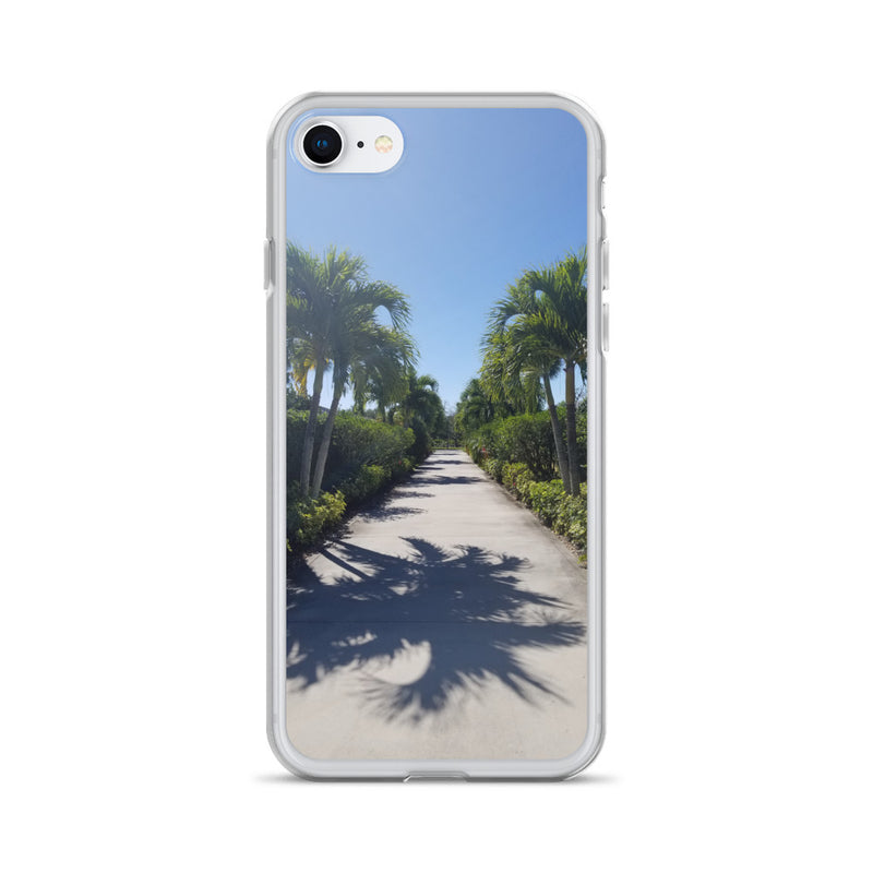 """Path to Paradise"" iPhone Case-Phone Case-Tropical Scenery-iPhone 7/8-Tropical Scenery"