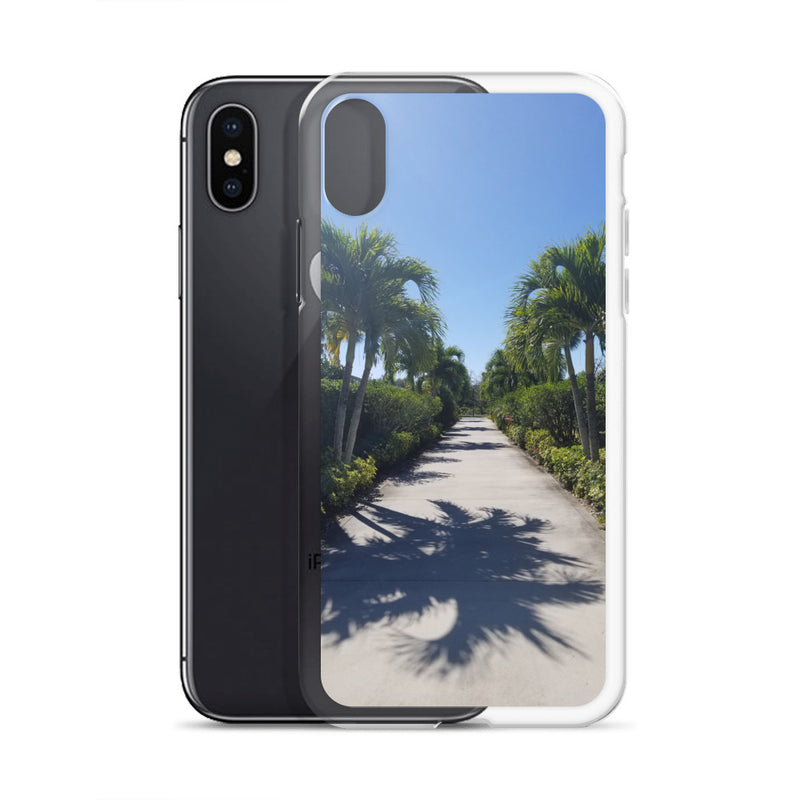 """Path to Paradise"" iPhone Case-Phone Case-Tropical Scenery-Tropical Scenery"