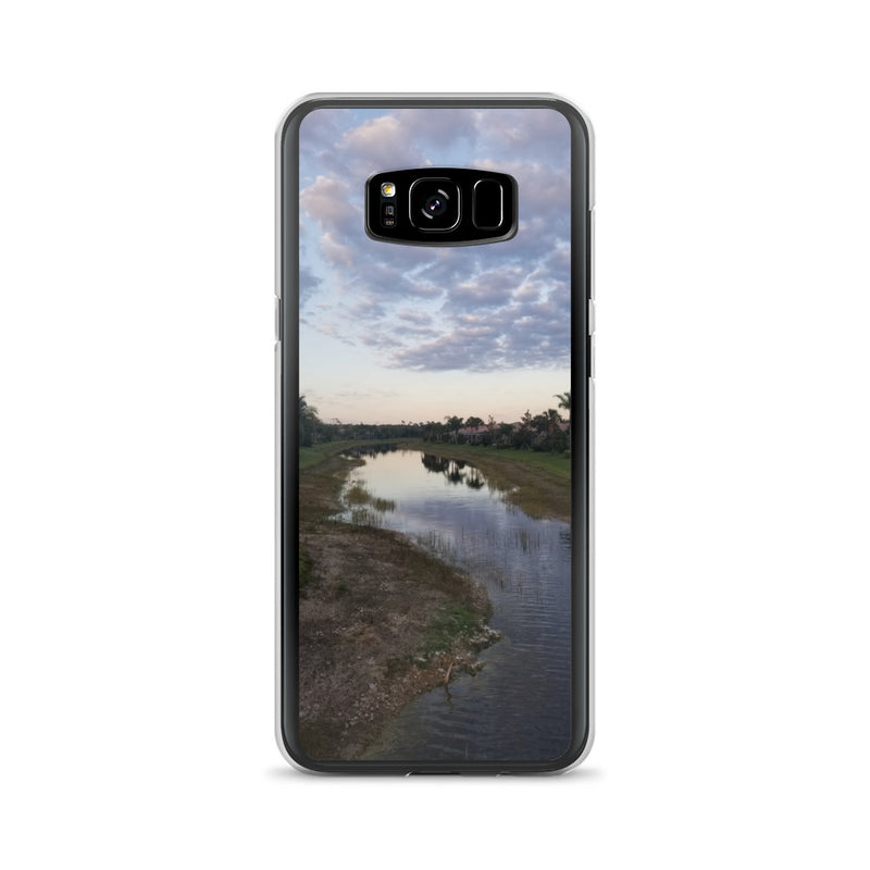 """River Sky"" Samsung Case-Phone Case-Tropical Scenery-Samsung Galaxy S8+-Tropical Scenery"