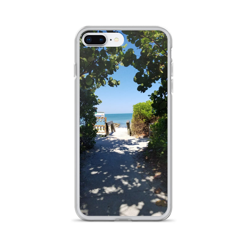 Beach Pass iPhone Case-Tropical Scenery-iPhone 7 Plus/8 Plus-Tropical Scenery