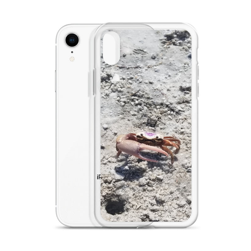 """Monsieur Crab"" iPhone Case-Phone Case-Tropical Scenery-Tropical Scenery"