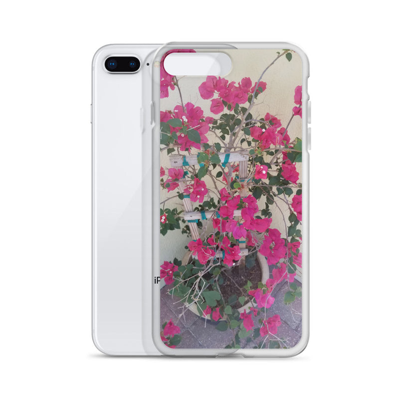 """Pretty in Pink"" iPhone Case-Phone Case-Tropical Scenery-Tropical Scenery"