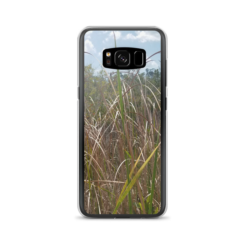 """Grass"" Samsung Phone Case-Phone Case-Tropical Scenery-Samsung Galaxy S8-Tropical Scenery"